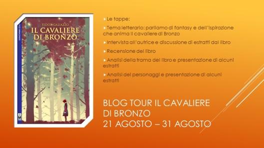 Blog tour Il cavaliere di bronzo